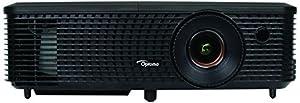 Optoma 95.72H01GC2E H183X DLP Projektor (16:10 16:9/4:3, Kontrast 25000:1, 1280 x 800 Pixel, 3200 ANSI Lumen, HDMI, VGA) schwarz