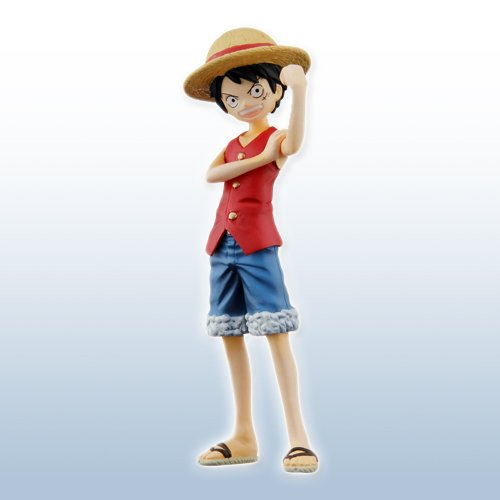 ONEPIECE One Piece Half Age Characters promise of the straw hat Monkey E D E Luffy figure separately Bandai
