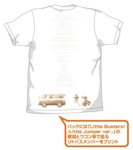 リトルバスターズTシャツ/WHITE-XL
