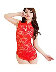 Glam Quotient Red Babydolls