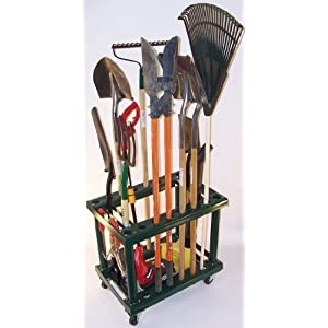 Wonderful Garden Tool Rack/Cart Check Price, Read Full Product Information And  Customer Reviews.Product Information : A Garden Tool Rack/cart Combined.