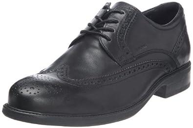 Geox U Carnaby A, Chaussures de ville homme - Noir (Black), 39 EU