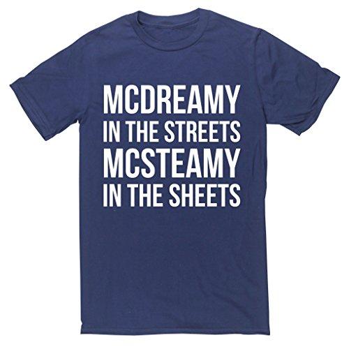 HippoWarehouse -  T-shirt - Uomo Navy blue Medium