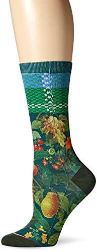 stance-womens-fruit-tree-200-everyday-crew-sock-green-one-size