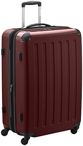HAUPTSTADTKOFFER, Valigia Rigida Alex, TSA, Taglia 75 cm, 119 Litri, Colore Bordeaux