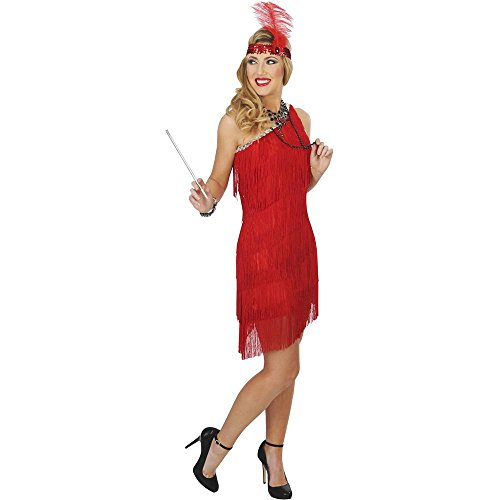 Sassy Red Flapper Adult Costume
