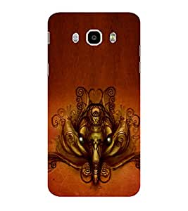 ifasho Modern Art Ganesh Back Case Cover for Samsung Galaxy On8