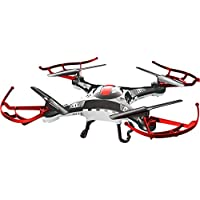 Alta AW-QDR-TBL Quadcopter Tumbler 6-Axis RC Drone with 2.4GHz 4 Channels Remote Control (Black & Red)