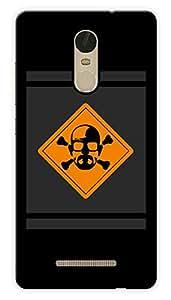 "Humor Gang Heisenberg Danger Printed Designer Mobile Back Cover For ""Xiaomi Redmi Note 3"" (3D, Glossy, Premium Quality Snap On Case)"