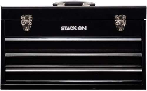Stack-On Shb-920 20-Inch 3-Drawer Tool Chest, Black front-185321