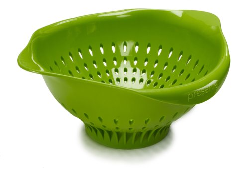 Preserve 3-1/2-Quart Plastic Colander, Green