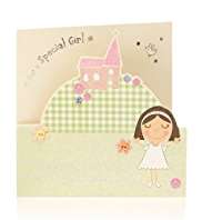 Special Girl Communion Card