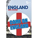 England Fan Come On Vinyl Sticker
