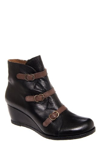 Eric Michael Lena Low Wedge Bootie