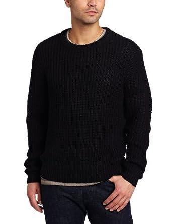 Cheap Monday Men's Ichiro Sweater, Black, X-Large