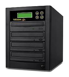 Copystars Dvd Duplicator Dual Layer Burner 24X 1 to 3 Cd dvd duplicator Sata DVD Copier 128MB buffer Burner Duplication Tower