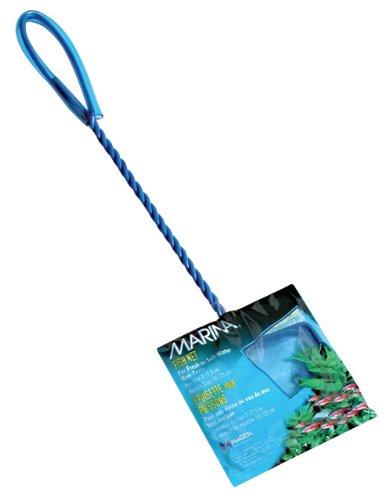 Marina 3-Inch Blue Fine Nylon Net with 10-Inch Handle