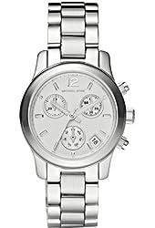 Michael Kors Women's MK5428 Runway Silver Watch