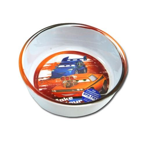 "Zak! Disney Cars ""Make Your Move"" Toddler Bowl - 1"