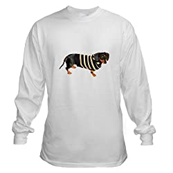 Lily Cool Sweater Dachshund Dog Long Sleeve T-Shir Long Sleeve T-Shirt