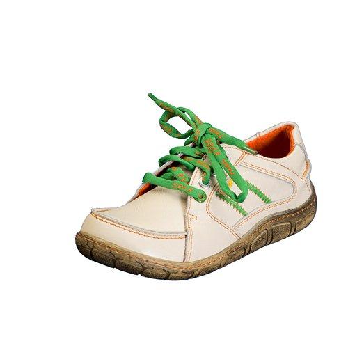 TMA EYES 1458 Schnürer Gr.36-42 mit bequemen perforiertem Fußbett , Leder 39.35 super leichter Schuh der neuen Saison. ATMUNGSAKTIV in Weiß Gr. 36