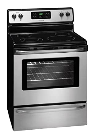 Frigidaire FFEF3048LS, 30 Inch Electric Range, Stainless Steel