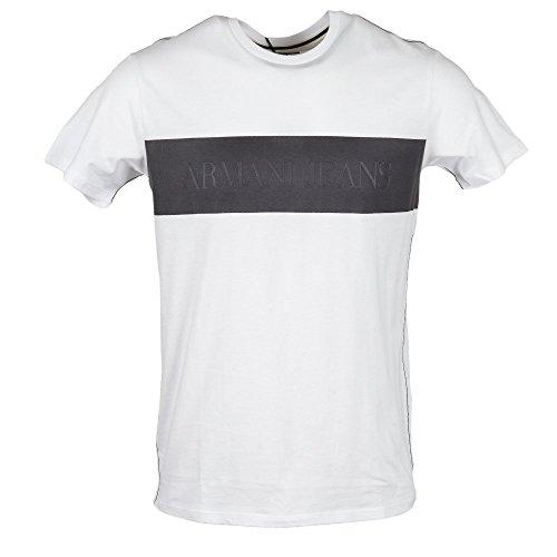 Armani Jeans Logo T-shirt White A6H82