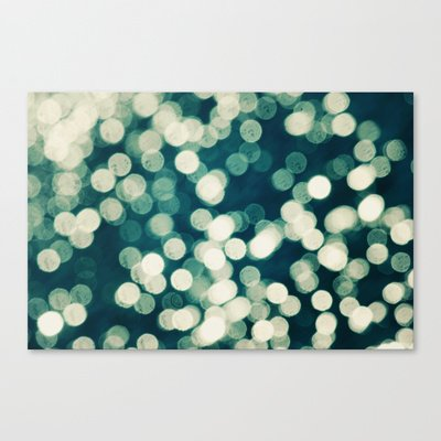 Society6 - Under A Microscope Stretched Canvas By Beth - Paper Angels Photography