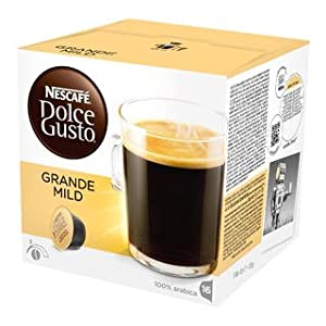 Choose Nescafé Dolce Gusto Grande Mild, 16 Capsules by Nestlé