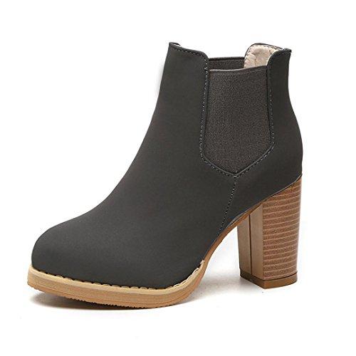 overdose-hauts-martin-boots-femme-ronde-tete-en-cuir-cheville-bottes-a-talons-35-gris