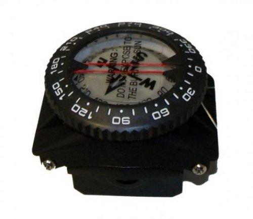 Storm Wrist Compass on a special Hose Mount for Scuba Diving