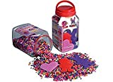 Hama Beads Activit Set 16,000 Beads and 3 Pegboards in a Tub (Red)