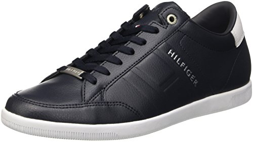 Tommy Hilfiger D2285enzel 8a, Scarpe Low-Top Uomo, (MIDNIGHT), 44