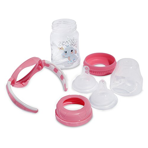 Top Rated Baby Gift Baskets : Top rated goglass borosilicate glass baby bottle oz