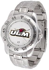 Louisiana Monroe Warhawks- University Of Sport Steel Band - Men's - Men's College Watches