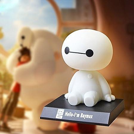 LifeJoy Big Hero 6 Baymax Bobblehead Doll Toy Accessoires Auto / Dashboard Bobblehead pour la voiture / décoration intérieure, Cadeau de