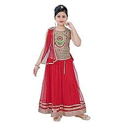 SAARAH Red Lehenga Choli Set (EMP3177)