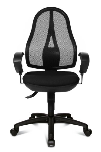 Topstar OP20UG20E Open Point SY Design Swivel Chair with Breathable Mesh Cover - Multicoloured
