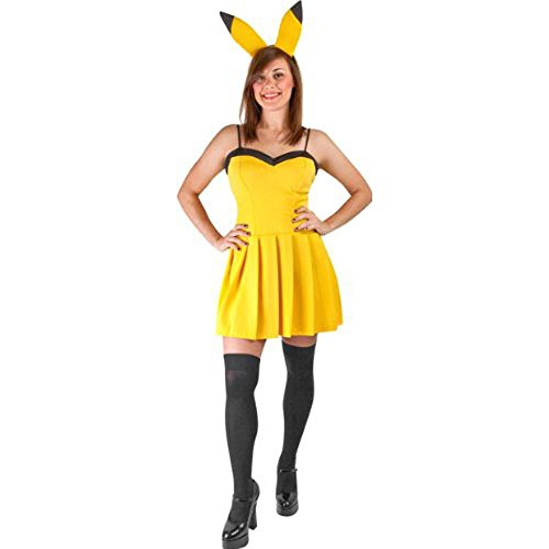Women's Sexy Pikachu Halloween Costume
