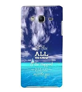 EPICCASE Wonderul quote Mobile Back Case Cover For Samsung Tizen Z3 (Designer Case)
