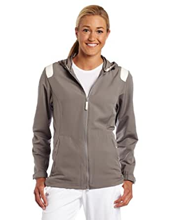 Nike Golf Women's Windproof Anorak ( Light Charcoal/Soft Pearl,  X-Small)