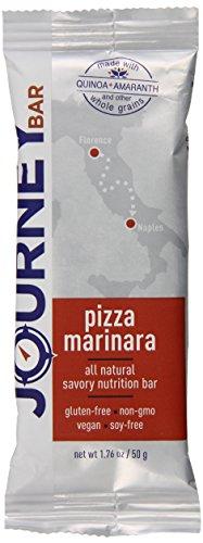 Journey Bar Nutrition Bars, Pizza Marinara, 1.76 Ounce (Pack of 12)