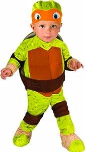 Nickelodeon Teenage Mutant Ninja Turtles Michelangelo Romper Shell and Headpiece by Rubie's Costume Co