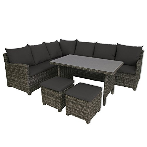Greemotion-Lounge-Set-Miami-Mehrfarbig-208x88x77cm