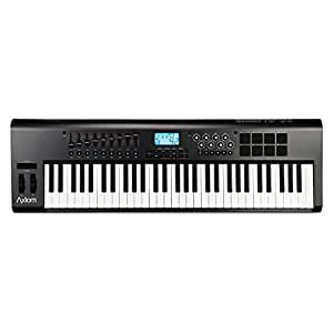 m audio axiom 61 61 key usb midi keyboard controller with semi weighted keys and. Black Bedroom Furniture Sets. Home Design Ideas