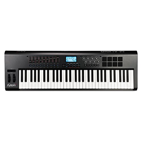 M-Audio Axiom 61 61-Key USB MIDI Keyboard Controller with Semi-Weighted Keys and Assignable Control Surface (Mixer Usb M Audio compare prices)