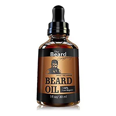 Best Cheap Deal for Beard Oil For Men Made in USA-Moisturizes Skin, Softens Beard, Helps Itchiness-Unscented For Beards And Mustaches-100% All Natural Organic Jojoba and Argan Oil Beard from USA Smart Investment - Free 2 Day Shipping Available