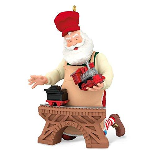 Hallmark 2016 Christmas Ornaments Toymaker Santa 17th Series