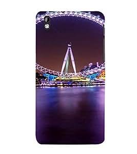 PrintVisa Travel London Eye Design 3D Hard Polycarbonate Designer Back Case Cover for HTC Desire 816