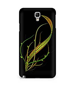 Amez designer printed 3d premium high quality back case cover for Samsung Galaxy Note 3 Neo (Abstract Dark 3)